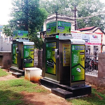eToilet--Electronic Public Toilet-- She Toilet