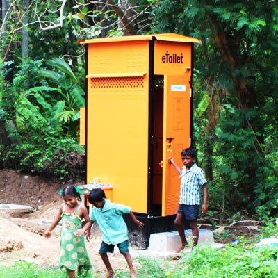 eToilet--Electronic Toilet--cost effective eToilet