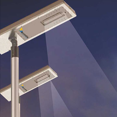 Solar Street light--Intelligent Streetlight