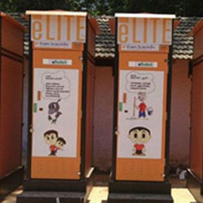 Solar eToilet--Electronic toilet--Off grid eToilet