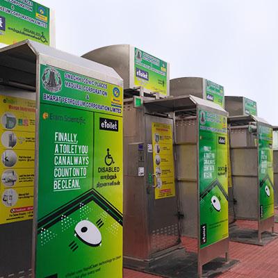 eToilet Electronic toilet Electronic Public toilet